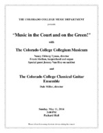 Thumbnail for Collegium Musicum [2014-05-11]