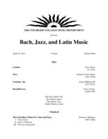 Thumbnail for [2014-04-10] Bach, Jazz, and Latin Music