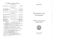 Thumbnail for Commencement Program 1942