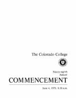 Thumbnail for Commencement Program 1979