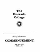 Thumbnail for Commencement Program 1977