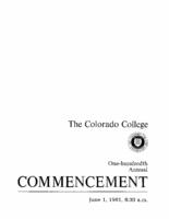 Thumbnail for Commencement Program 1981