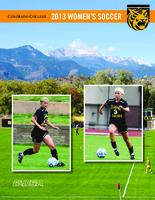 Thumbnail for 2013-2014 Colorado College Women's Soccer