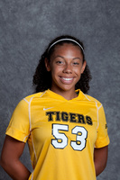 Thumbnail for Hendrix, Chanisse. Colorado College Women's Soccer. Player portraits, 2013-2014