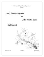 Thumbnail for [2014-10-15] Musto and Burton in Concert