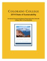 Thumbnail for Colorado College 2014 State of Sustainability : an annual assessment report