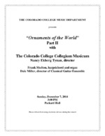 Thumbnail for Collegium Musicum [2014-12-07]