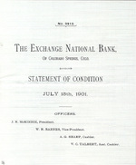 Thumbnail for Banking in Colorado Springs - William S. Jackson