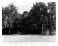Thumbnail for F. P. Stevens photograph - El Paso Club, northwest corner of Platte Avenue and Tejon Street