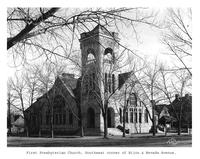 Thumbnail for F. P. Stevens photograph - First Presbyterian Church, southeast corner of Bijou and Nevada Avenue