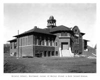 Thumbnail for F. P. Stevens photograph - Bristol School, northwest corner of Walnut Street and Rock Island Avenue