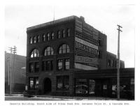 Thumbnail for F. P. Stevens photograph - Gazette building, south side of Pikes Peak Avenue between Tejon Street and Cascade Avenue