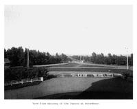 Thumbnail for F. P. Stevens photograph - View from balcony at the casino at Broadmoor