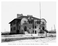 Thumbnail for F. P. Stevens photograph - Steele School on Del Norte between Nevada Avenue and Weber Street