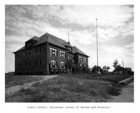 Thumbnail for F. P. Stevens photograph - Lowell School, northeast corner of Nevada and Fountain