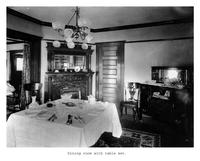 Thumbnail for F. P. Stevens photograph - Dining room with table set