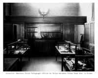 Thumbnail for F. P. Stevens photograph - Interior of the Western Union Telegraph office, Tejon Street between Pikes Peak Avenue and Kiowa