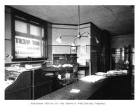 Thumbnail for F. P. Stevens photograph - Business office of the Gazette Publishing Company