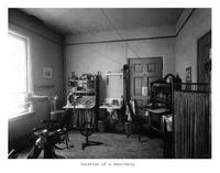 Thumbnail for F. P. Stevens photograph - Interior of a dentistry