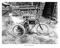 Thumbnail for F. P. Stevens photograph - Motor tricycle