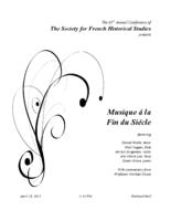 Thumbnail for [2015-04-18] The Society for French Historical Studies