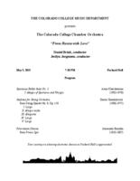 Thumbnail for Colorado College Chamber Orchestra [2015-05-05]