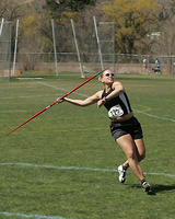 Thumbnail for Cross Country and Track and Field Brochure Photos. 2005. Javelin1