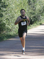 Thumbnail for Cross Country and Track and Field Brochure Photos. 2005. n04Castaneda1
