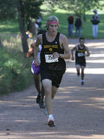 Thumbnail for Cross Country and Track and Field Brochure Photos. Fall 2005. n04Nichols1500