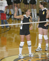 Thumbnail for Women's Volleyball Brochure Photos. Fall 2005. n03Ferrington2500