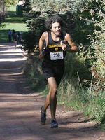 Thumbnail for Cross Country and Track and Field Brochure Photos. Fall 2005. n04Moorty1500