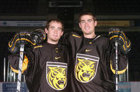 Thumbnail for Sertich, Marty and Sertich, Mike. Colorado College Men's Hockey. Team photos, 2004-2005
