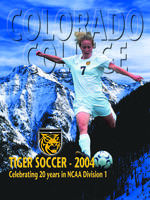 Thumbnail for Colorado College Women's Soccer Media Guide Cover 2004
