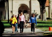 Thumbnail for Scene of Colorado College campus life. 2003. CC-095tif