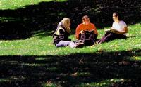 Thumbnail for Scene of Colorado College campus life. 2003. CC-087