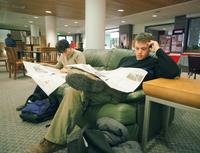 Thumbnail for Scene of Colorado College campus life. 2003. CC-021
