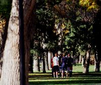 Thumbnail for Scene of Colorado College campus life. 2003. CC-088
