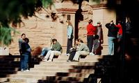 Thumbnail for Scene of Colorado College campus life. 2003. CC-089