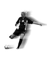 Thumbnail for Colorado College Women's Soccer. Media Guide Photos. 2001. player3action