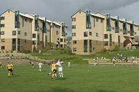 Thumbnail for Colorado College Women's Soccer. CC vs. Central Michigan. 2005. WSfielddorms134