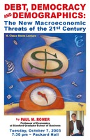 Thumbnail for Debt, democracy and demographics : the new macroeconomic threats of the 21st century