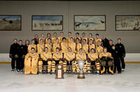 Thumbnail for Colorado College Men's Hockey. Team Photos with McNaughton Cup. 2005. CCHtrophies962