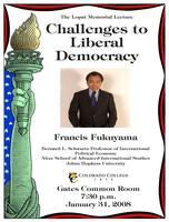 Thumbnail for Challenges to Liberal Democracy. Poster.