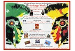 Thumbnail for 16th Annual Native American Student Union Heritage Week: Native Americans and the Arts. Poster.