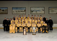 Thumbnail for Colorado College Men's Hockey. Team Photos with McNaughton Cup. 2005. CCHtrophy954