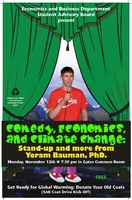 Thumbnail for Comedy, economics, and climate change : stand-up and more from Yoram Bauman, PhD.