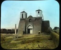 Thumbnail for Los Ranchos de Taos. Mission, 1910: A25
