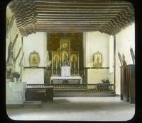 Thumbnail for San Juan 1927. Interior of Mission: A35