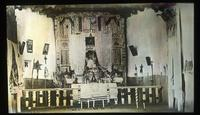 Thumbnail for Chimayo. 1915. Interior of Chimayo church dated about 1560: A44