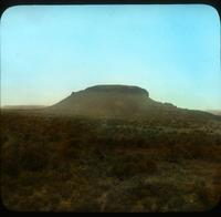 "Thumbnail for Black Mesa, ""Tuyo"" Sacred Mountain. Tewa. Near San Ildefenso. 1908: A70"